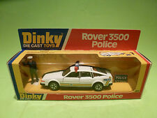 DINKY TOYS 264 ROVER 3500 - POLICE- RARE SELTEN - GOOD CONDITION IN BOX