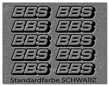 BBS 10 Aufkleber Auto Styling Tuning Felgen Logo Racing  -30 Farben- BBS001