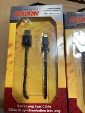 ROADKING Apple Lightning To USB Power Charge And Sync Cord Cable RKHDSYNCA8PIN