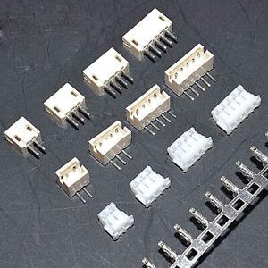 Set: Straight/Angle Pin Socket+Plug+Terminals ZH1.5mm 2/3/4/5/6/8/10P Connector