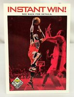 1998-99 Upper Deck UD Choice Instant Win! MICHAEL JORDAN #IW5 Chicago Bulls