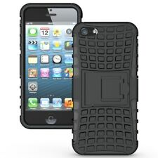 iPhone 5S Armour Case Rugged Shockproof Protective Hybrid Back Military Cover 5