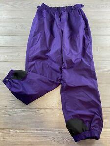 Vintage Columbia Sportswear Women's Ski Snowboard Pants, Purple Size Large