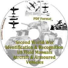 Second World War Identification & Recognition US Field Manuals PDF CD Disk1