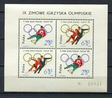 36078) POLAND 1964 MNH** Winter Olympic Games, Innsbruck