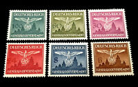 Authentic Germany WWII Mint MNH GENRALGOUVERNEMENT Stamp Set - WWII Era