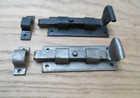 OLD ENGLISH VINTAGE STYLE  HAND FORGED COUNTRY DOOR BOLT