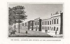 Berlin: la Real Academia de las artes/lindenpromenade. - acero clave, 1832