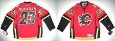 RBK CALGARY FLAMES SEAN MONAHAN PREMIER RED HM JERSEY LARGE