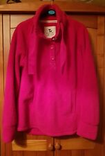 Ladies Pink Soft Fluffy Jumper Size 12