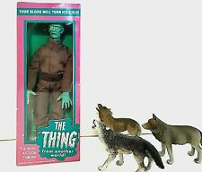 The Thing From Another World With Box With MEGO Parts and accessories