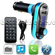 Wireless Bluetooth FM Transmitter MP3 Player Car Kit Charger For iPhone6 5S 5 BT