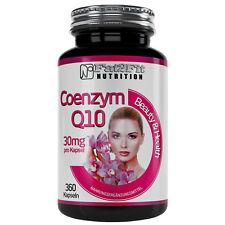 Coenzym Q10 360 Kapseln je 30mg Haut XXXL Inhalt Fat2Fit Nutrition