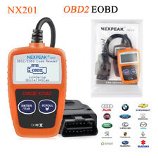 OBD2 OBDII Scanner Code Reader Car NX201 Auto Diagnostic Tool OBDII EOBD Nexpeak