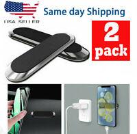 2Pack Strip Shape Magnetic Car Phone Holder Stand For iPhone Magnet Mount Holder