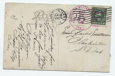 1913 Galveston Military Branch TX postmark on card [H.230]