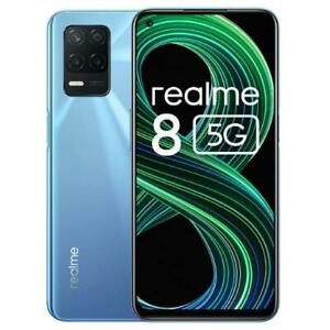 "REALME 8 5G SUPERSONIC BLUE 128GB 6GB RAM DUAL SIM DISPLAY 6.5"" Full HD ANDROID"