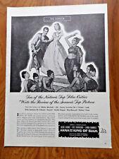 1946 Movie Ad Anna & King of Siam Irene Dunne Rex Harrison Linda Darnell