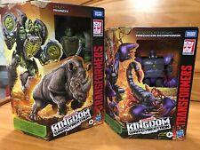 Lot (2) Scorponok & Rhinox generations WFC kingdom transformers beast wars NEW