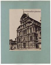 Venedig, P. Salviati, San Zaccaria, Original Albumin-Photo, ca 1880