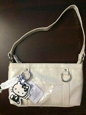Hello Kitty Shoulder Handbag White