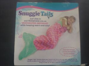Snuggie Tails for Kids, Pink Mermaid- New with Tag