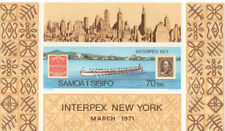 Samoa Interex 1971 Mini Sheet