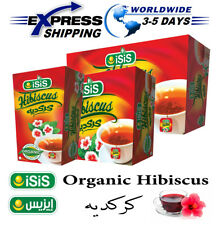 Organic ISIS Natural Egyptian Hibiscus Herbal Tea Healthy Body Drinks كركديه