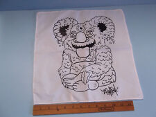 """DCON Reusable wall Hanger or scarf super cool monster figure 14""""in by 14""""in"""