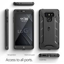 Poetic Revolution Built-In Screen Protector for LG G6 heavy duty hybrid case BLK