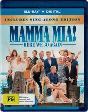 """MAMMA MIA! HERE WE GO AGAIN"" Blu-ray + Digital - Region Free [B][A][C] NEW"