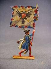 Figurines plats d'etain tin flat figures zinnfiguren-flachfiguren fine peinture