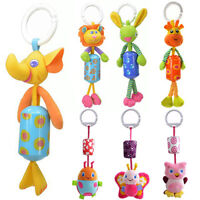 Baby Infant Bed Stroller Soft Cartoon Animal Rattle Hanging Bell Toy Filmy