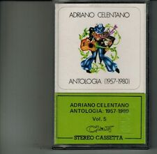 """ADRIANO CELENTANO """"ANTOLOGIA 1957-1980 VOL 5"""" PIRAZZOLI PRETE CUTUGNO RARE NEW"""