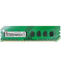 16GB 4x4GB 2Rx4 PC3-12800 DDR3-1600Mhz Non-ECC Unbuffered AMD Desktop Memory RAM