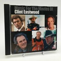 MUSIC FOR THE MOVIES OF CLINT EASTWOOD Rare CD Album - Complete, VG Condition