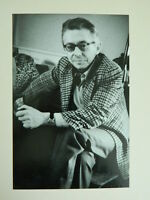 Vintage Foto Original Yvette Troispoux Retrato Franck Roussel Paño con Fecha Tit