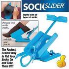 Sock Slider The Easy on Easy off Sock Aid Kit & Shoe Horn Pain Free No Bending ~