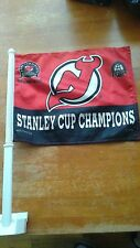 New Jersey Devils Car Flag 2000 Stanley Cup Champions.