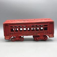 Vintage Pennsylvania Binari Rosso Washington 44 Ghisa Treno Passeggeri Auto