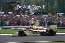 Thierry Boutsen Arrows A8 San Marino Grand Prix 1986 Photograph