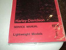1973 HARLEY  AERMACCHI  X-90CC  SERVICE MANUAL 99498-74    AMF