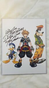 Kingdom Hearts Card (Signed By Donald Duck)
