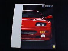 Ferrari Testarossa Sales Brochure F 512 M 906/94 OEM