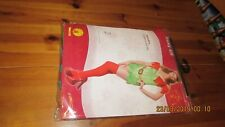 Rubie's Official Classic Sexy Elf Costume - Ladies Fancy Dress Christmas Outfit