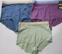 Vanity Fair Soft Essentials 3-Pack Brief Panties 13089, Sz 10, Assorted Colors