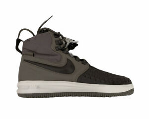 Nike Lunar Force 1 Duckboot 17 Ridgerock Mens Size 9.5 Green Black Textured