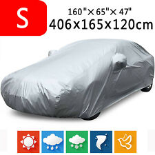 13ft Polyester Full Hatch Car Cover Dust Heat Resistant Outdoor UV Sun Protector