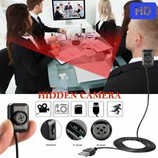 Mini Hidden Button Camera HD 1080P DVR Video Motion Detection Audio Recording