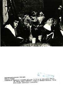 """FOTO ORIGINALE ARCHIVIO RAI -MICHEL ALBERTINI-FILM """"IL TESORO DEGLI UGONOTTI"""""""